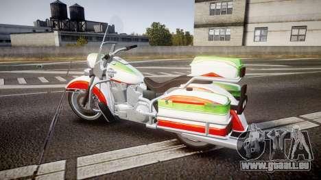 GTA V Western Motorcycle Company Sovereign IRN für GTA 4 linke Ansicht