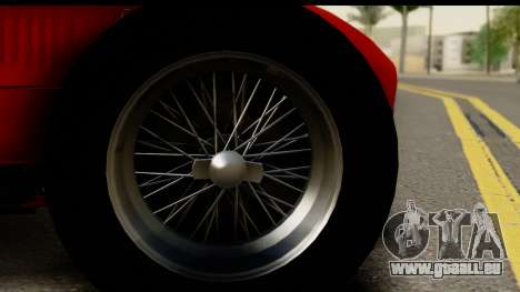 Ferrari 375 F1 für GTA San Andreas Rückansicht