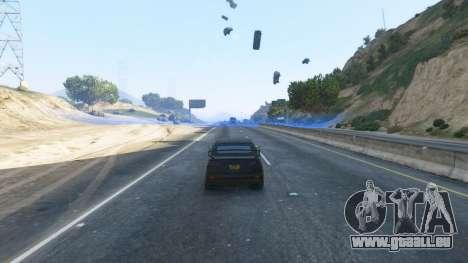 GTA 5 Champ de Force troisième capture d'écran