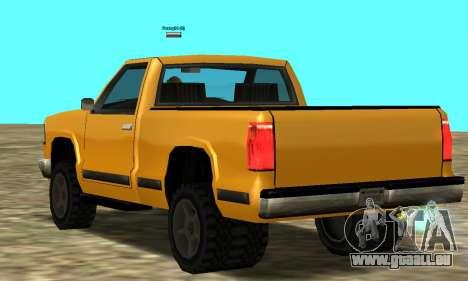 PS2 Yosemite für GTA San Andreas rechten Ansicht