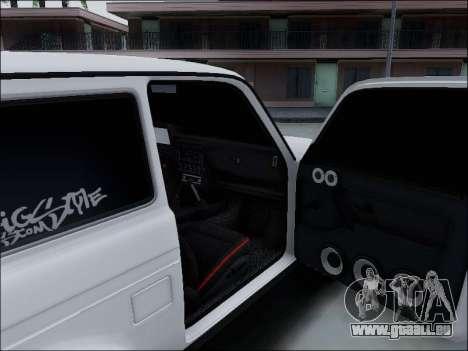Lada Niva für GTA San Andreas Innen