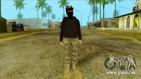 Sicario Skin v10 pour GTA San Andreas