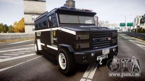 GTA V Brute Police Riot [ELS] skin 5 pour GTA 4