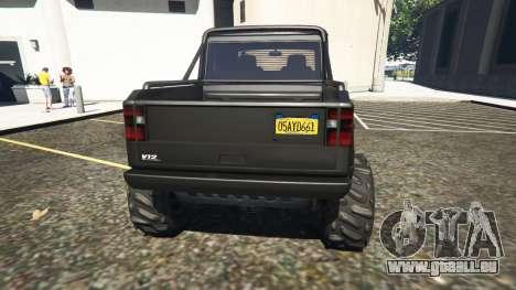 GTA 5 New York State License plate dritten Screenshot
