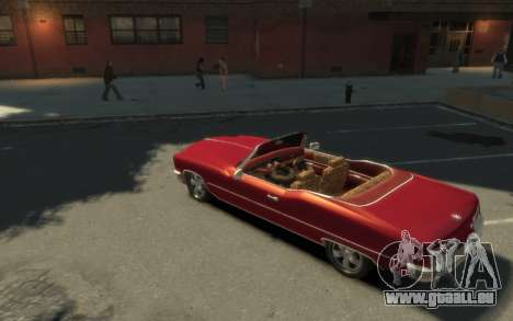 GTA 3 Yardie Lobo HD für GTA 4 rechte Ansicht