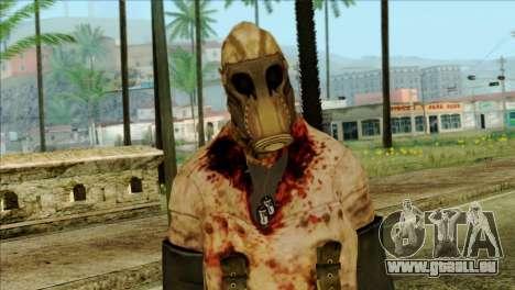 Order Soldier Alex Shepherd Skin pour GTA San Andreas troisième écran