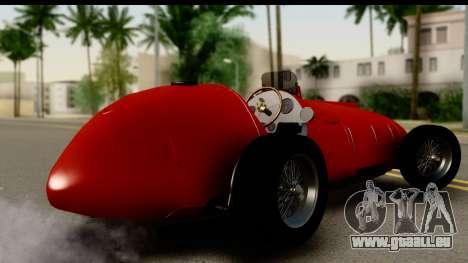 Ferrari 375 F1 für GTA San Andreas linke Ansicht