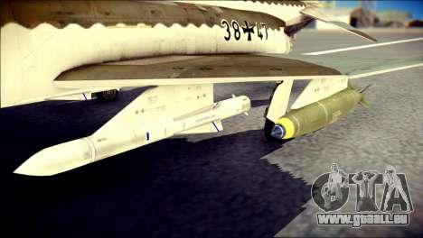 McDonnell Douglas F-4F Luftwaffe pour GTA San Andreas vue de droite