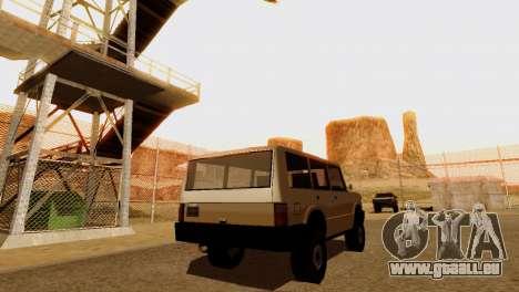 DLC 3.0 Militaire mise à jour pour GTA San Andreas onzième écran