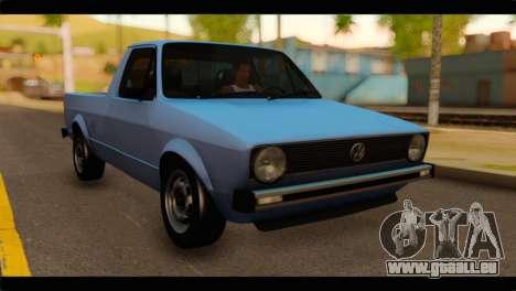 Volkswagen Caddy Mk1 Stock pour GTA San Andreas