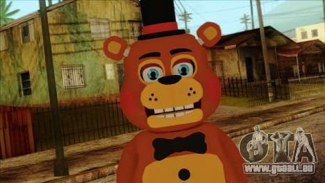 Toy Freddy from Five Nights at Freddy 2 für GTA San Andreas dritten Screenshot