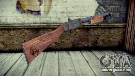 Rumble 6 Chromegun pour GTA San Andreas deuxième écran