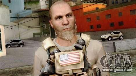 Officer from PMC pour GTA San Andreas troisième écran