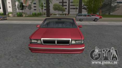 Premier Cabrio pour GTA San Andreas vue de droite