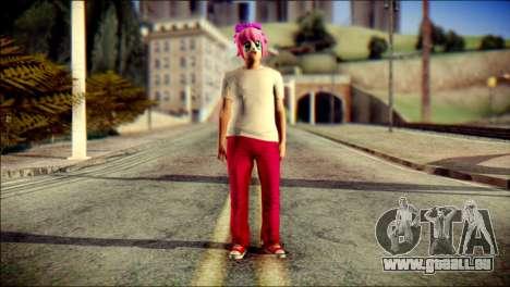 Skin Kawaiis GTA V Online v3 pour GTA San Andreas