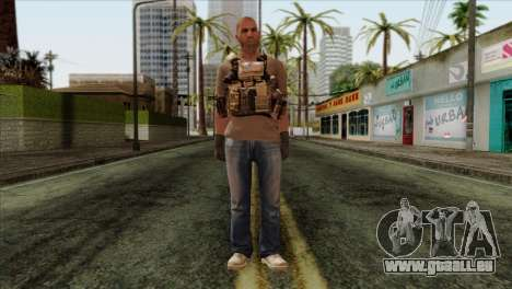 Officer from PMC für GTA San Andreas
