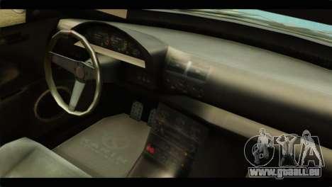 GTA 5 Ubermacht Zion XS IVF für GTA San Andreas rechten Ansicht