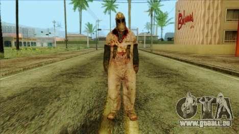 Order Soldier Alex Shepherd Skin pour GTA San Andreas