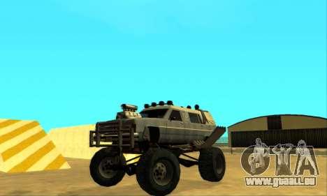 Hellish Extreme CripVoz RomeRo 2015 pour GTA San Andreas vue de dessus
