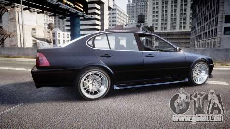 Emperor Lokus LS 350 Race GT pour GTA 4 est une gauche