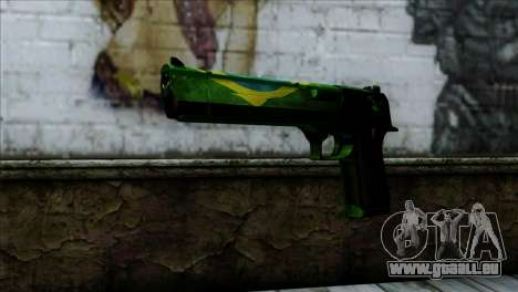 Desert Eagle Brazil für GTA San Andreas