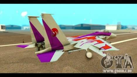 F-15C Air Combat pour GTA San Andreas laissé vue