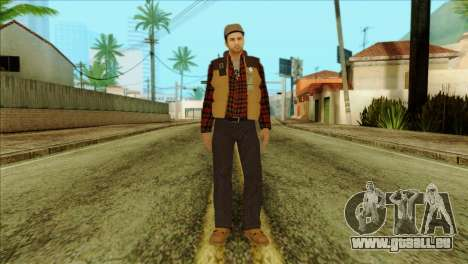 Big Rig Alex Shepherd Skin für GTA San Andreas