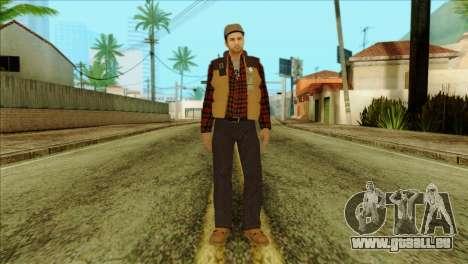Big Rig Alex Shepherd Skin pour GTA San Andreas