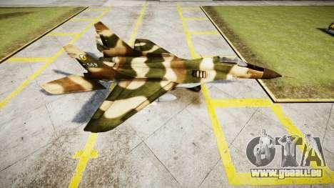 Die MiG-29 für GTA 4 linke Ansicht