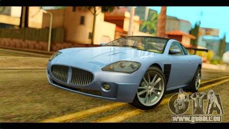 GTA 5 Ocelot F620 IVF pour GTA San Andreas