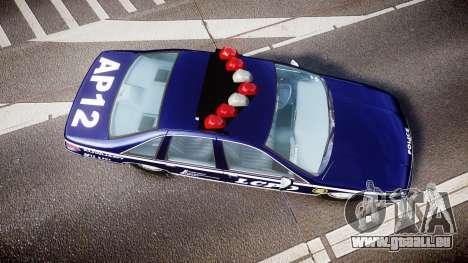 Chevrolet Caprice 1993 LCPD WH Auxiliary [ELS] pour GTA 4 est un droit