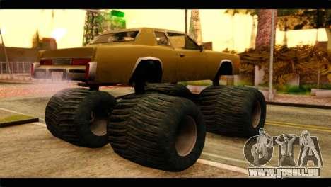 Monster Esperanto für GTA San Andreas linke Ansicht