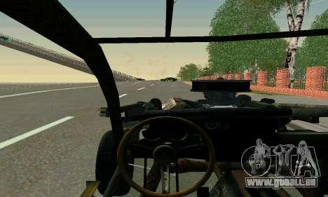 Dodge Charger RT HL2 EP2 pour GTA San Andreas vue intérieure