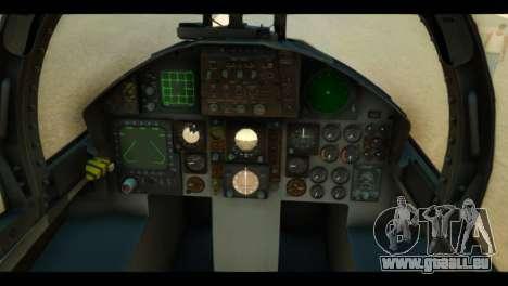 F-15C Air Combat pour GTA San Andreas vue arrière