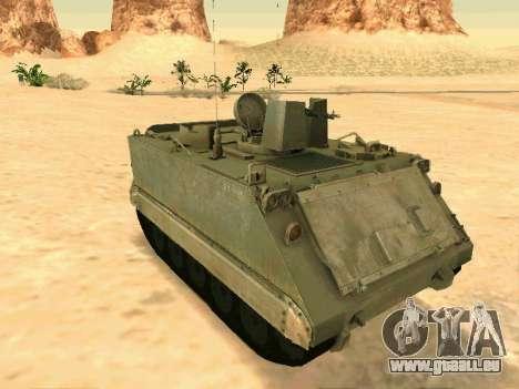 Le M113 Blindés De Transport De Personnel pour GTA San Andreas
