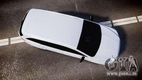 Ford Fusion Estate 2014 Unmarked Police [ELS] für GTA 4 rechte Ansicht