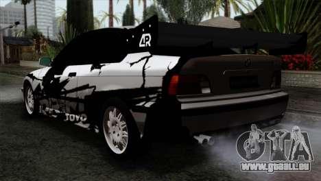 BMW M3 E36 Drift Editon für GTA San Andreas linke Ansicht