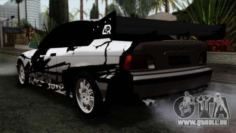 BMW M3 E36 Drift Editon pour GTA San Andreas laissé vue