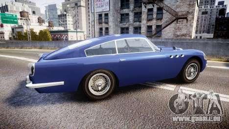 GTA V Dewbauchee JB 700 für GTA 4 linke Ansicht
