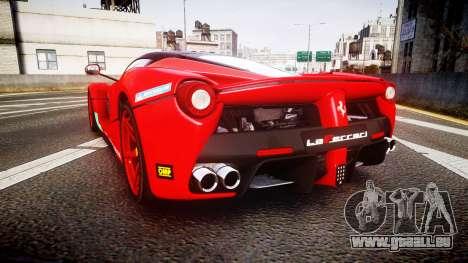 Ferrari LaFerrari 2013 HQ [EPM] PJ4 pour GTA 4 Vue arrière de la gauche