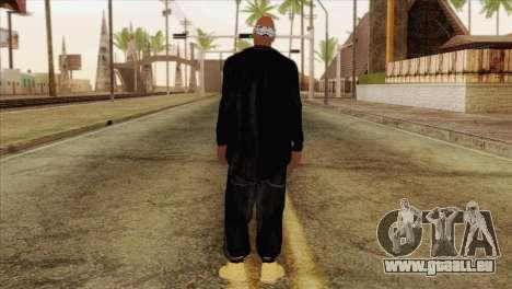 Tupac Shakur Skin v1 für GTA San Andreas zweiten Screenshot