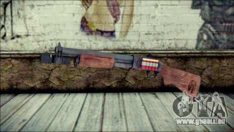 Rumble 6 Chromegun pour GTA San Andreas