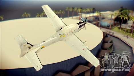 EMB 314 Super Tucano Colombian Air Force pour GTA San Andreas laissé vue