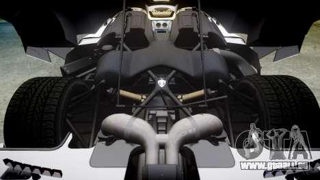 Koenigsegg Agera 2013 Police [EPM] v1.1 Low Qual pour GTA 4 est un côté