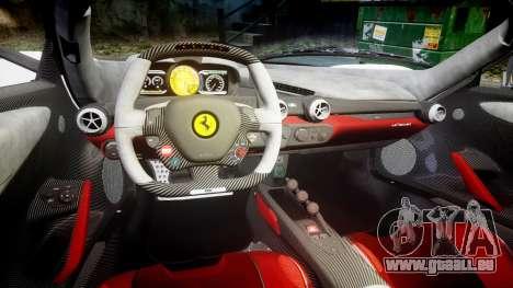 Ferrari LaFerrari 2013 HQ [EPM] PJ2 für GTA 4 Innenansicht