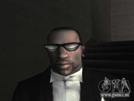 De nouvelles lunettes pour CJ pour GTA San Andreas sixième écran