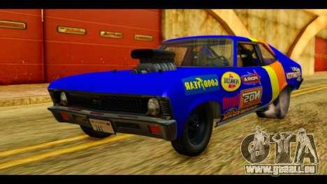 Chevy Nova NOS DRAG pour GTA San Andreas