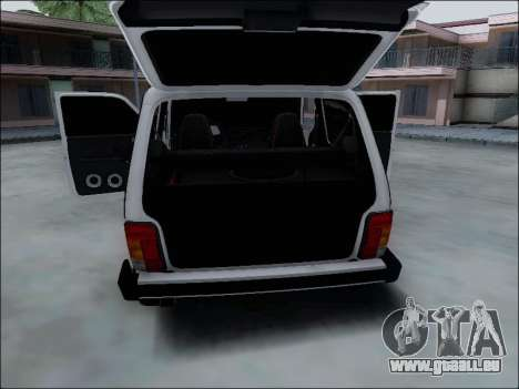 Lada Niva für GTA San Andreas Motor