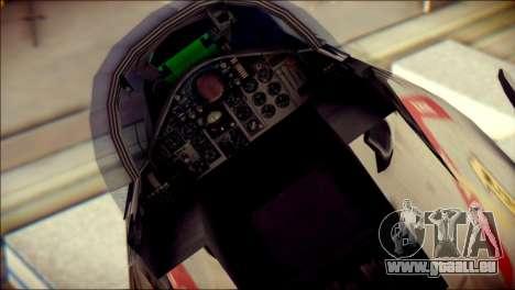 McDonnell Douglas F-4B Phantom II pour GTA San Andreas vue arrière