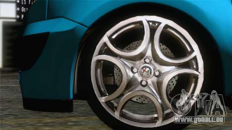 Renault Kangoo 2004 für GTA San Andreas zurück linke Ansicht